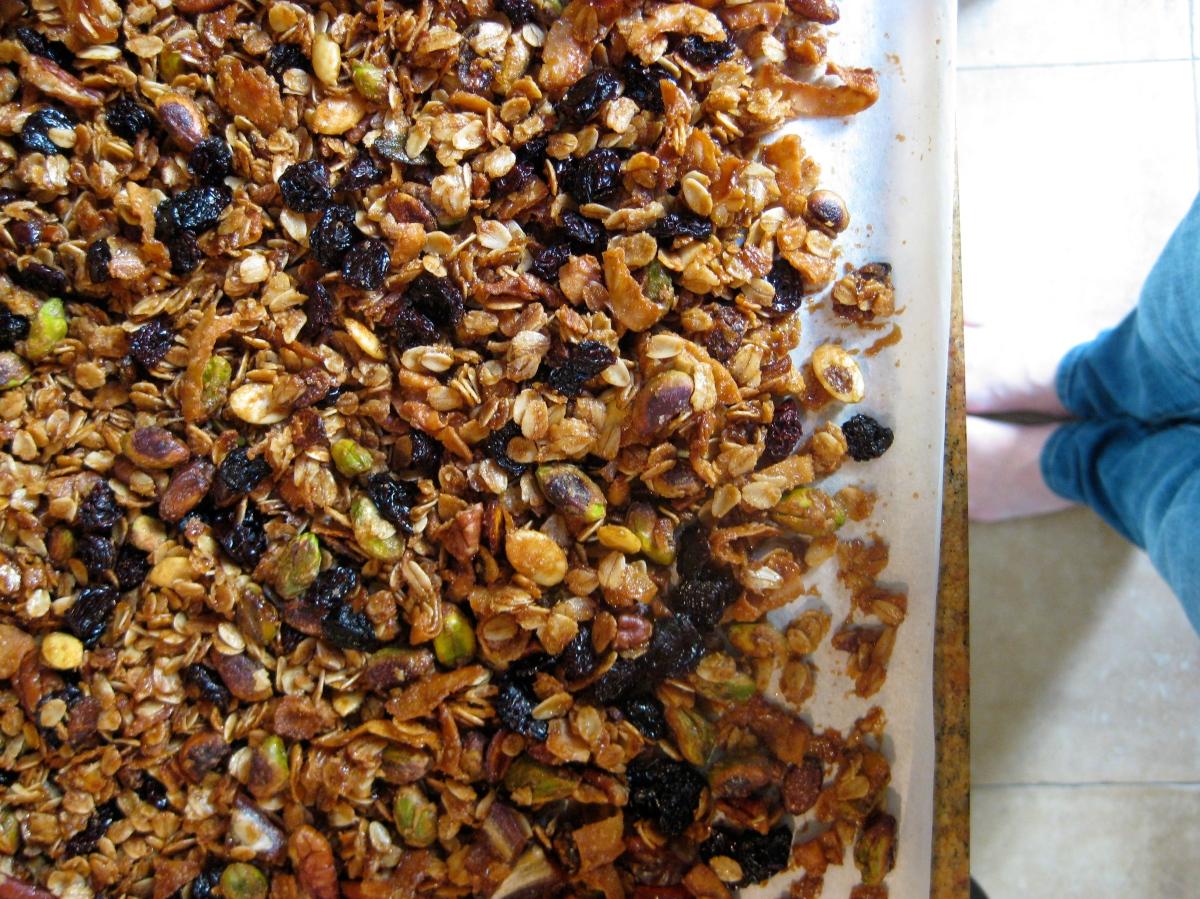 Eleven Madison Park Granola | The Bon Appétit Diaries